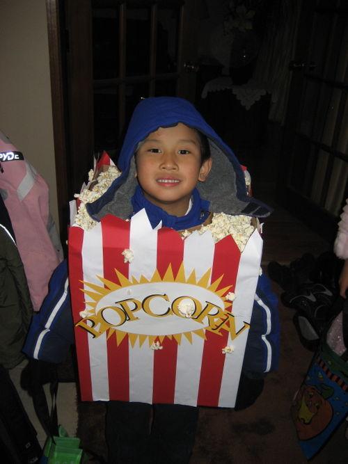 Popcorn Costume!